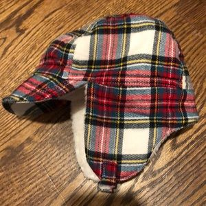 Plaid lumberjack cap